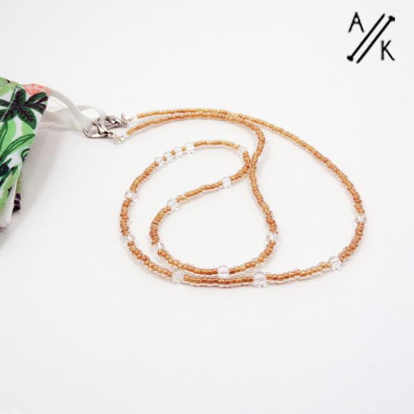 Beaded Mask Chain | Atomic Knitting