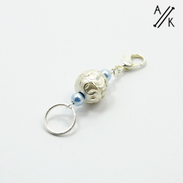 Dual ended stitch marker | Atomic Knitting