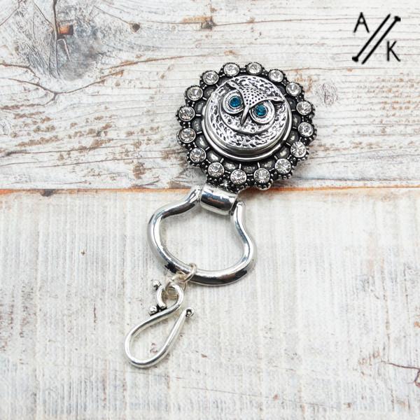 Owl Portuguese Pin | Atomic Knitting
