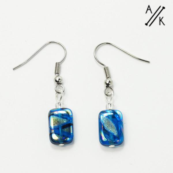 Blue Lustre Earrings
