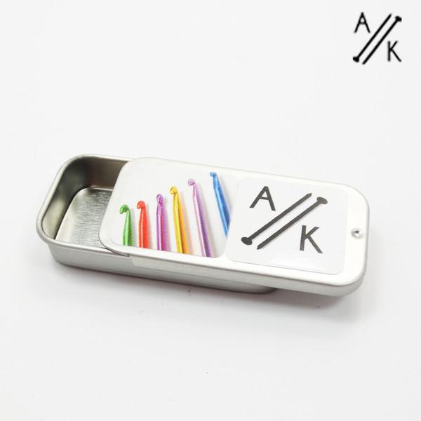 Mini Notions Tin - Tin Only | Atomic Knitting