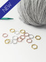 Mixed colour solid snag free stitch markers