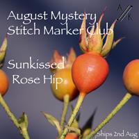 August Mystery Stitch Marker Club