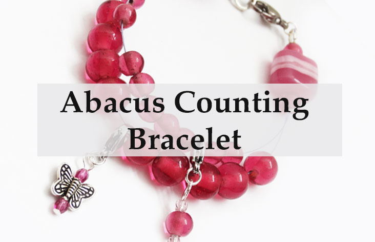 Abacus Row Counting Bracelet