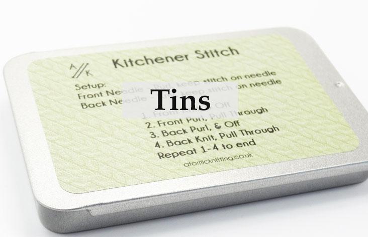 Stitch Marker Tins