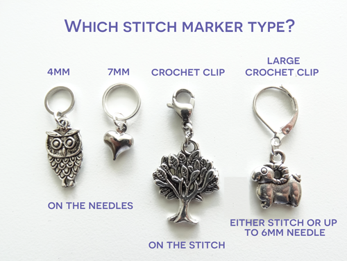 Types of stitch Markers