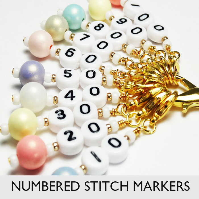 Cast On Counting Stitch Markers