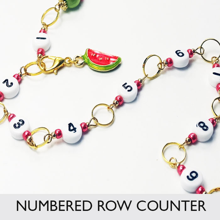 Row Counter Chain Numbered 99