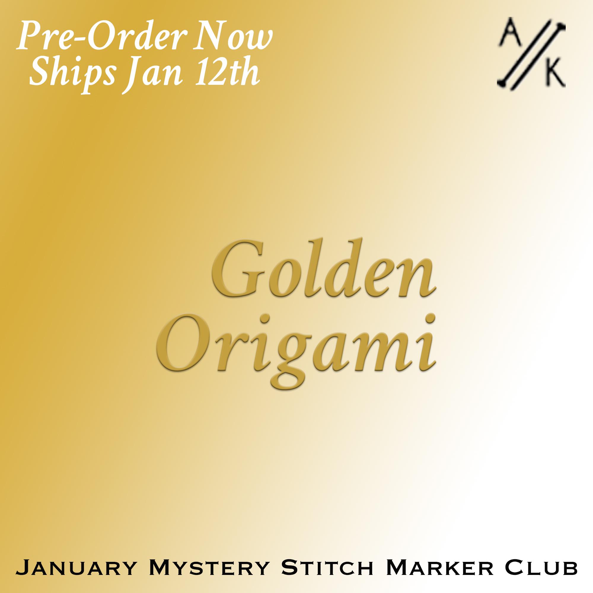 January Mystery Stitch Marker Club