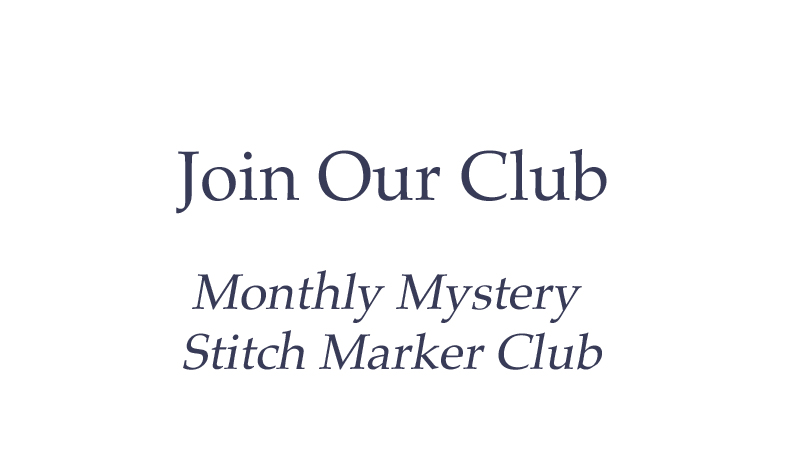 Join our stitch marker club