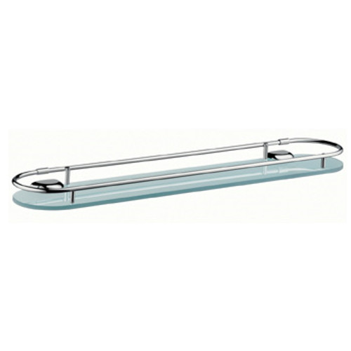 AXOR Carlton glass shelf chrome