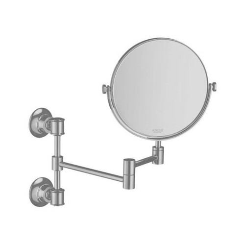 AXOR Montreux beauty mirror brushed nickel