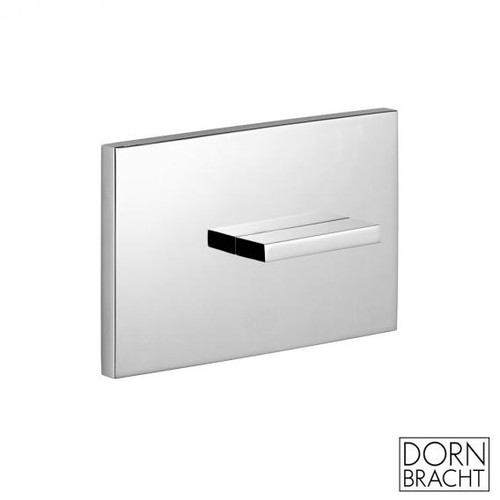 Dornbracht Design cover plate for concealed toilet cistern chrome