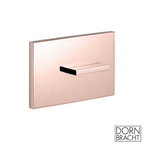 Dornbracht Design cover plate for concealed toilet cistern cyprum