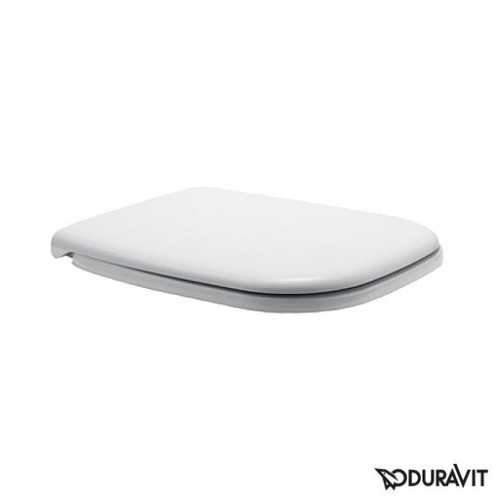 Duravit D-Code toilet seat with soft-close