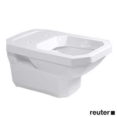 Duravit 1930 wall-mounted toilet white, with WonderGliss