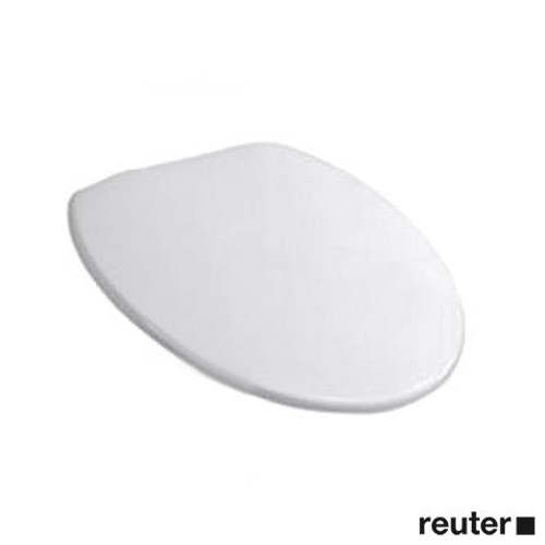 Duravit Starck 1 urinal lid white, with stainless steel hinges