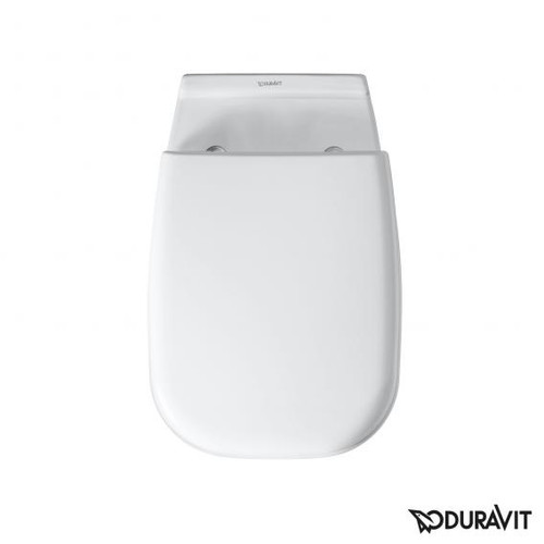 Duravit D-Code toilet seat Vital white, removable with soft-close 0060390000