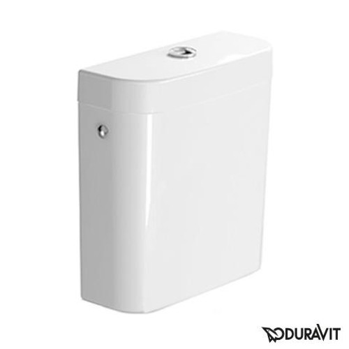 Duravit Darling New cistern left/right/middle white, with WonderGliss