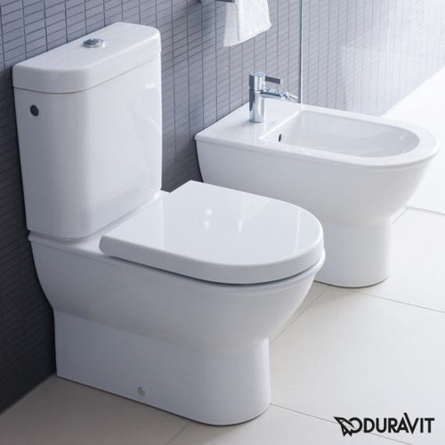 Duravit Darling New floorstanding bidet L: 63 W: 37 H: 40 cm with WonderGliss, with 1 tap hole 22511000001