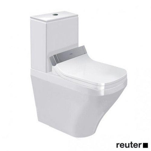 Duravit DuraStyle close-coupled, floorstanding washdown toilet for SensoWash® white 2156590000