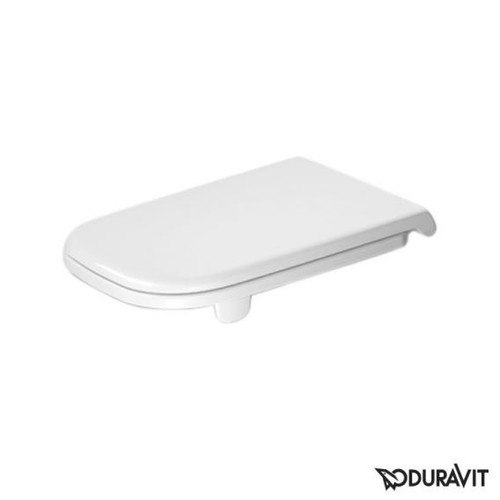 Duravit D-Code toilet seat Vital white, without soft-close