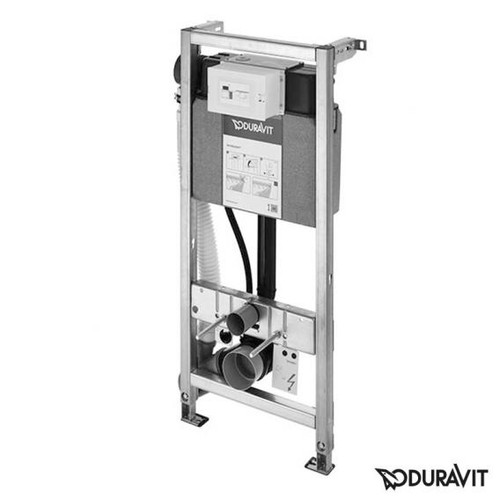 Duravit DuraSystem toilet element manual odour extraction, H: 115 cm