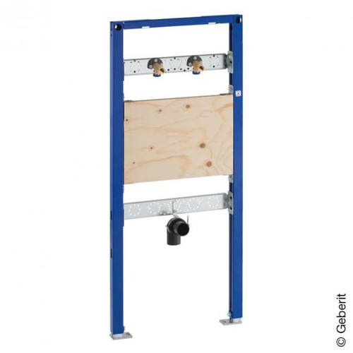 Geberit Duofix frame for utility basin, H: 112-130 cm, for wall-mounted fittings