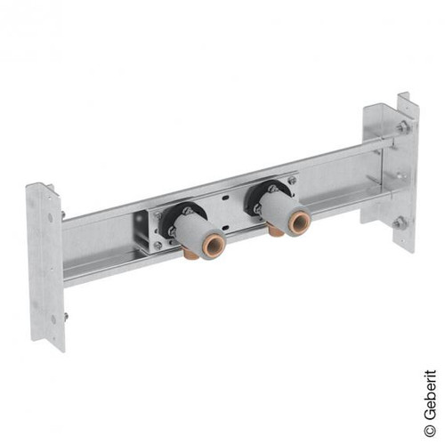 Geberit system cross bar for bath/shower tray, for exposed fitting