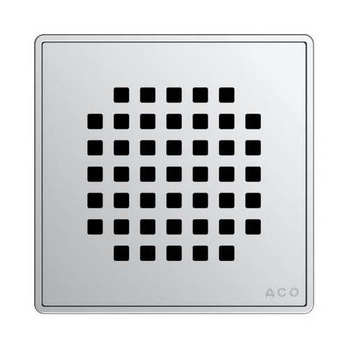 ACO Quadrato design grating L: 14,9 W: 14,9 cm