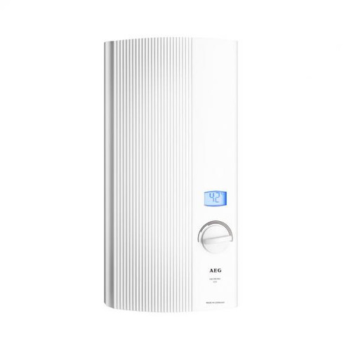 AEG DDLE LCD instantaneous water heater, electronically controlled, 30 to 60°C 18 kW