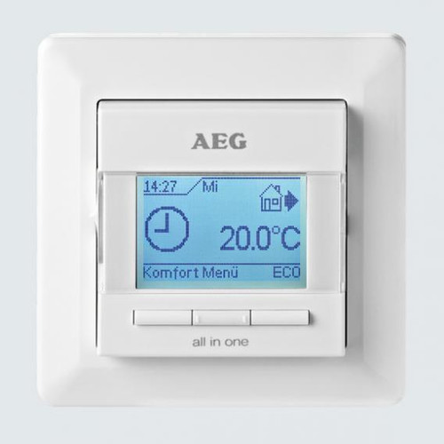 AEG FRTD 903 electronic comfort room and floor temperature control all-in-one