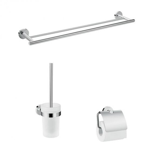 Hansgrohe Logis Universal bathroom accessory set 3 in 1