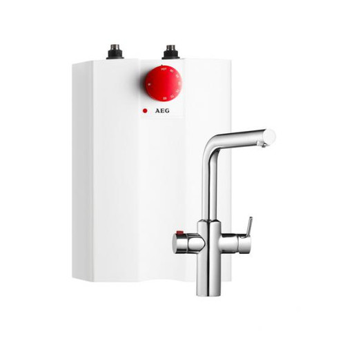 AEG hot water system Hot 5 with special fitting (child safety feature) 2 kW