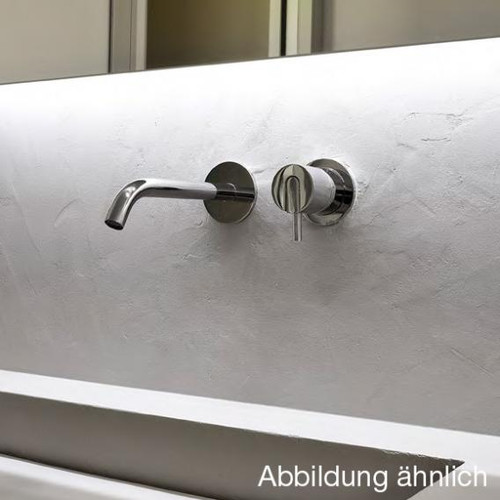 antoniolupi AYATI basin wall spout projection: 120 mm, satinised stainless steel