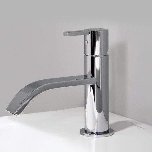 antoniolupi BIKAPPA single lever basin mixer without waste set chrome