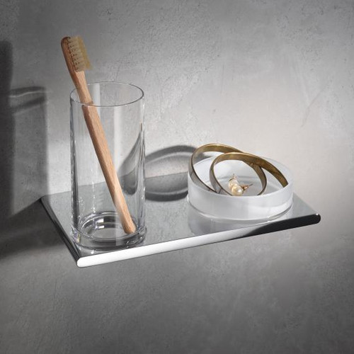 Keuco Edition 400 double holder with tumbler and bowl, wall-mounted 11554019000