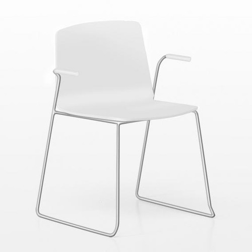 Kristalia Rama chair with armrests