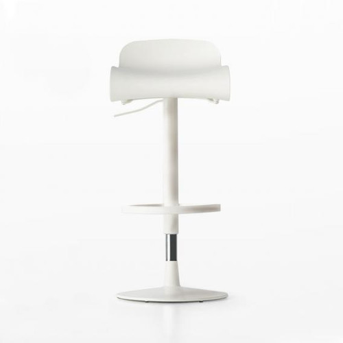 Kristalia BCN adjustable stool 05BCN04#WEISS/PBT#PP01