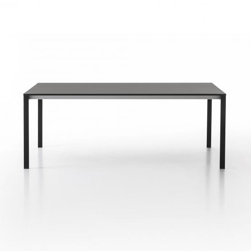 Kristalia be-Easy Fenix-NTM dining table with extension leaf