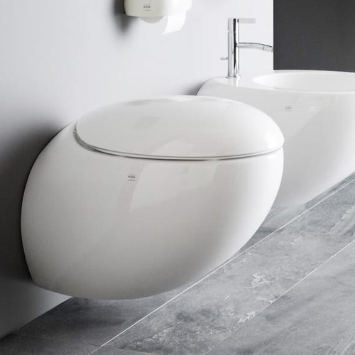 Laufen Alessi One toilet seat with lid white H8929710000001