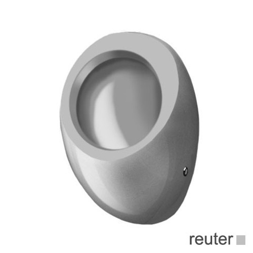 Laufen Alessi One siphonic urinal white, with Clean Coat, without cover