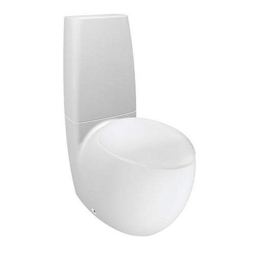 Laufen Alessi One floorstanding washdown toilet white, with Clean Coat