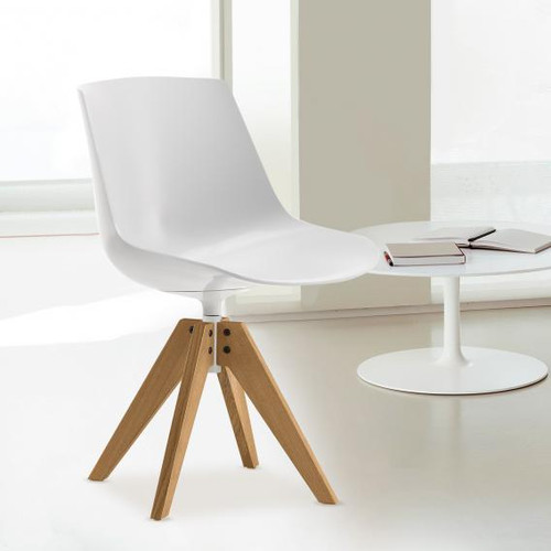 MDF Italia FLOW CHAIR chair with legs
