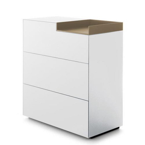MDF Italia INMOTION sideboard with open compartment F012312W085F008F029