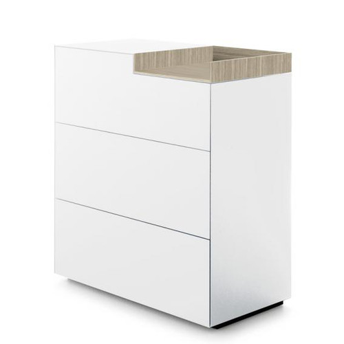 MDF Italia INMOTION sideboard with open compartment F012312W085F008F048