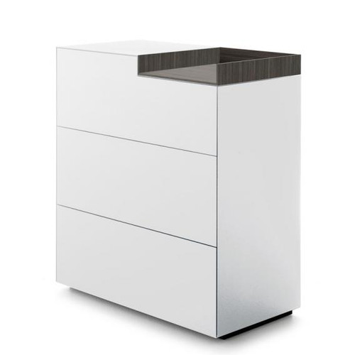 MDF Italia INMOTION sideboard with open compartment F012312W085F008F049