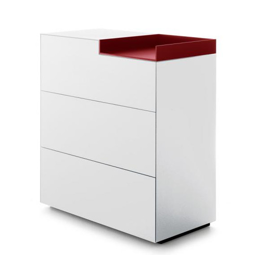 MDF Italia INMOTION sideboard with open compartment F012312W085F008F054