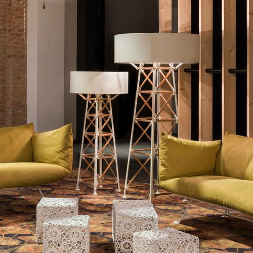 Moooi Construction Lamp M floor lamp with dimmer MOLCOL-M-WW