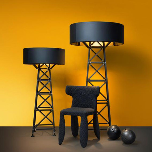 Moooi Construction Lamp M floor lamp with dimmer MOLCOL-M-MB